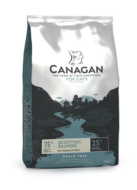 Canagan Scottish Salmon for Cats - Power Pet GmbH Linthal